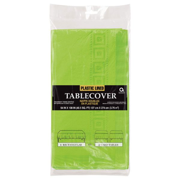 Kiwi Green Paper Tablecover